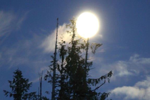 Alaska Full Moon