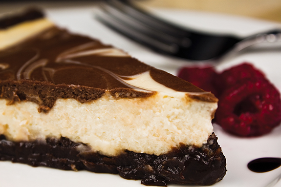 Brownie Cheesecake Torte