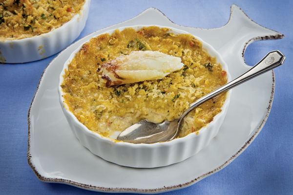 Crab Imperial with Red Pepper
