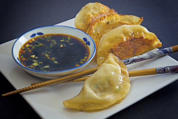 Crab, Shrimp and Pork Pot Stickers