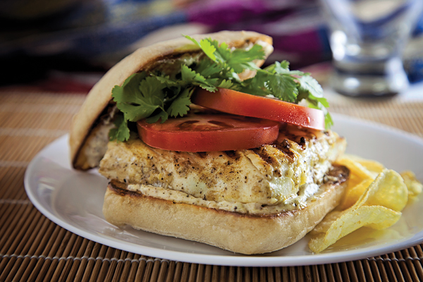 Halibut Burger