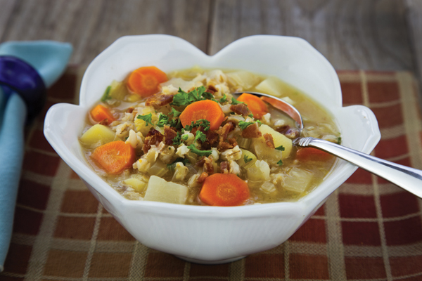 Root-Vegetable Soup With Orange, Ginger, And Tarragon Recipes ...