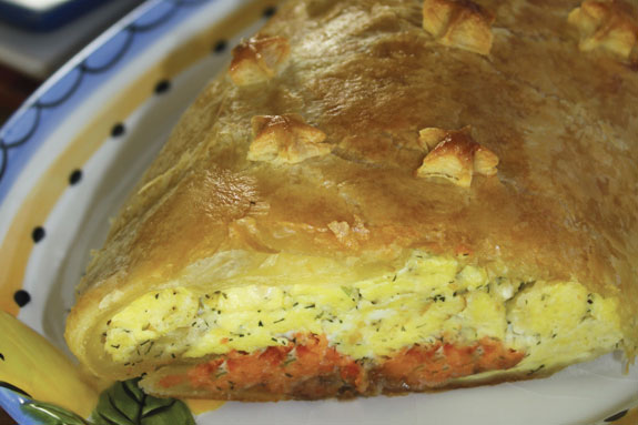 Smoked Salmon Puff Pastry