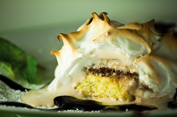 Chocolate Baked Alaska