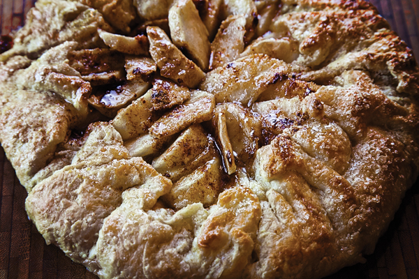 Rustic Apple-Maple Galette